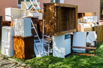 家具の回収処分
