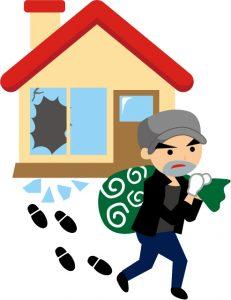 空き巣泥棒対策